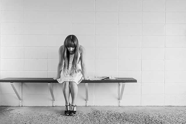 depressedgirlalone Symptoms of Depression