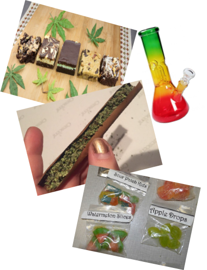 edibles-bongs-blunts-1 The Air We Breathe: The Effects of Secondhand Marijuana Smoke