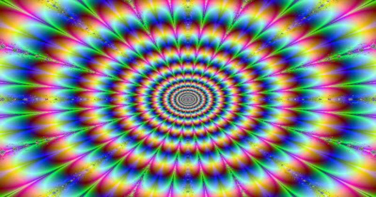 psychedelic image formatted for facebook